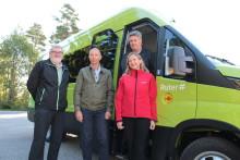 Skolestart på Romerike med elektriske minibusser