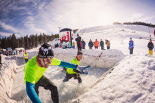 Tough Viking performed the World's Northernmost Obstacle Race in Finnish Levi