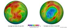 Overraskende stort ozonhull i nord