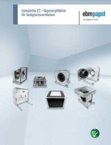 Katalog: Kompletta EC-lågenergifläktar för fastighetsventilation