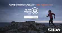 Award winning headlamp: Trail runner free