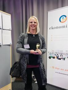 Vinnaren i Girls in Sport-quizet korad under Nolia Ledarskap i Umeå