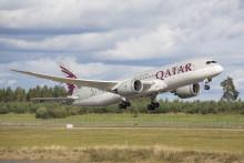 Qatar Airways lanserer 787 Dreamliner på sin rute til Oslo Lufthavn