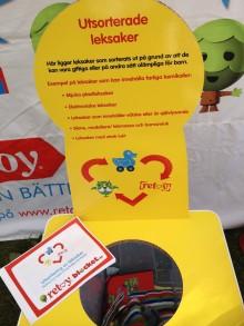 Blocket och Retoy kraftsamlar för att minska leksaker med farliga kemikalier i barns ägo