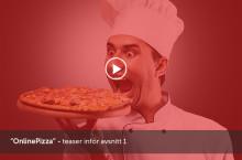 OnlinePizza blir dokusåpa