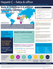 Hepatit C fakta infograf