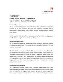 [FACT SHEET] Airport Facilities in Jewel
