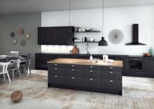 Älykäs Epoq-keittiö – tyylikäs ja käytännöllinen keittiömallisto, älykkäät kodinkoneet ja viihtyisyyttä lisäävä äänentoisto