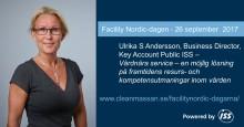 ISS talar om vårdnära service på Facility Nordic-dagarna
