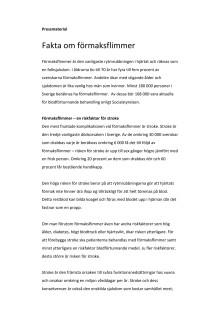 Fakta om förmaksflimmer