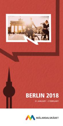 Program studieresa Berlin 2018