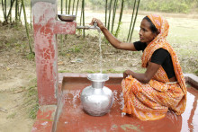 WaterAid och Lindex startar samarbete i Bangladesh