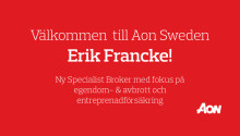 Aon har rekryterat Erik Francke
