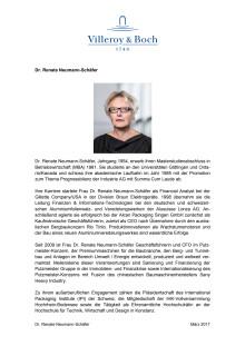Profil Dr. Renate Neumann-Schäfer