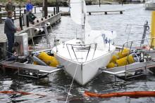 Båtborsttvätten är i hamn