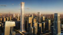 Ett av Kinas högsta hus utrustas med banbrytande hissteknik från KONE
