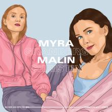 """Myra Granberg & nysignade Malin Christin släpper singeln """"Salt i såren"""""""