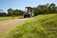 Prydligt på golfbanan taack vare Elastopave® från BASF