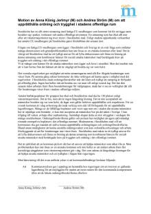 Stockholm ska kräva av regeringen att se över regelverk kring avhysningar