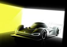 Volkswagen siktar på elbilsrekord på Nürburgring med ID. R