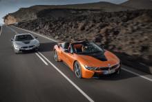Helt nye BMW i8 Roadster og nye BMW i8 Coupé: Et nytt kapittel i suksesshistorien