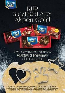 Alpen Gold – gorzka może być słodka.