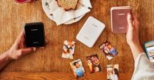 Skriv ut och dela ovärderliga minnen med Zoemini, Canons minsta och lättaste fotoskrivare
