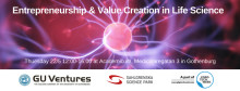 "Welcome to ""Entrepreneurship & Value Creation in Life Science"""
