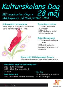 Pressinbjudan: Kulturskolans dag 28 maj
