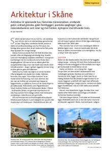 Arkitektur i Skåne