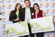 Chalmersstudenterna hjälper nödställda och vinner entreprenörstävlingen Venture Cup Väst