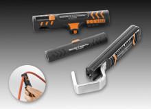 Avmantlingsverktyg och kabelsaxar för hög säkerhet, bekvämlighet och snabb hantering.