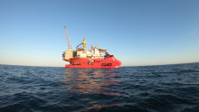 The 'Esvagt Dana' performs superbly as diving support vessel