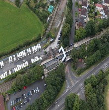Residents and passengers reminded of road and station closures during Albrighton railway bridge replacement