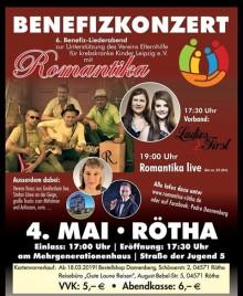 Benefiz-Liederabend in Rötha