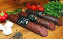 Alspånsrökt & lufttorkad svensk salami från Ridderheims