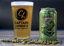 Captain Lawrence Effortless Grapefruit IPA entrar svensk mark