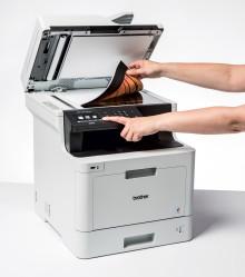 Kolorowe urządzenia laserowe dla biur