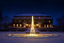 Julen börjar på Bjertorp Slott