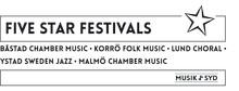 Five Star Festivals – fem festivaler under ett namn