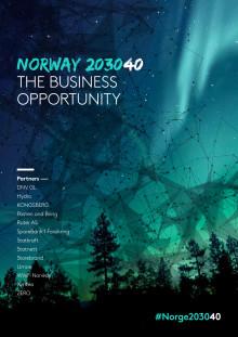 Klimarapporten «Norge 203040 – Forretningsmuligheter» English verson