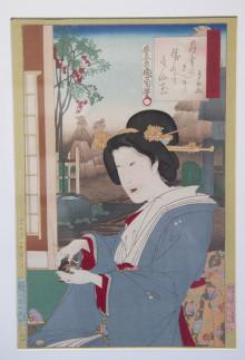 """PRESSINBJUDAN: Välkomna på pressvisning av Ukiyo-e, """"bilder från den förbiflytande världen"""""""