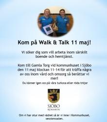 Walk & talk nytt grepp i sökandet efter vikarier