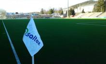 Nytt kunstgress med eCork fyllmateriale på Gjemselund Stadion