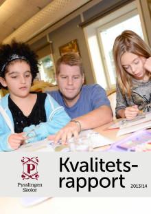 Kvalitetsrapport - Pysslingen Skolor 2013/14