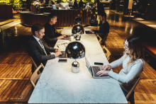 Palaver inleder samarbete med Företagarna och utökar med mobila arbetsplatser på Clarion Hotel.