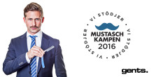 Gents blir ny parter till Mustaschkampen i kampen mot prostatacancer.