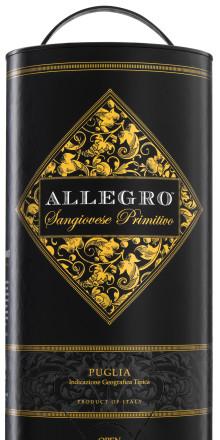 """Best Wine in box 2015"" - Allegro Sangiovese Primitivo"