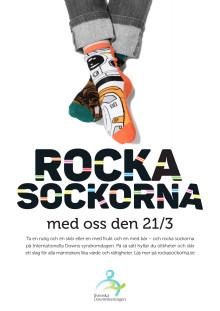 Rocka sockorna affisch 2
