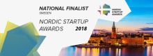 GU Ventures national finalist in the Nordic Startup Awards!
